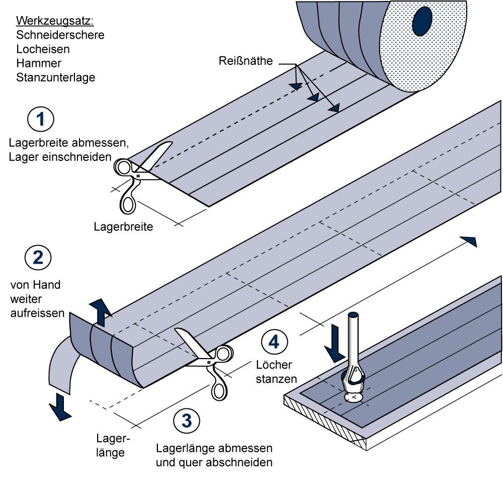 elastomerlager treppe